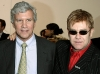 Billionaire Larry Gagosian, seen here with Elton John, is one of the most powerful art dealers in the world.