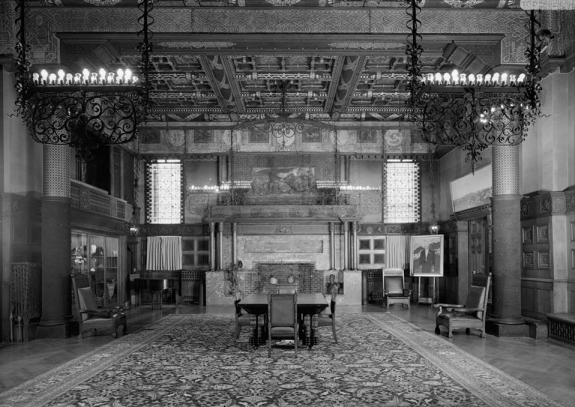 The Park Avenue Armory's Veterans Room.