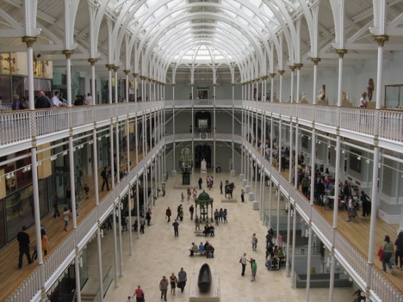 The National Museum of Scotland.