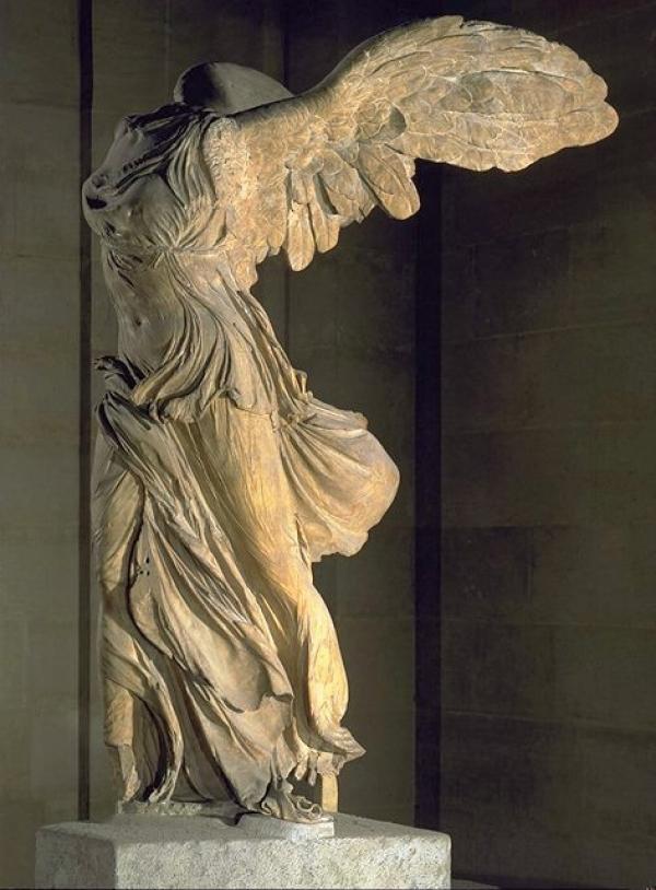Winged Victory Of Samothrace Restoration