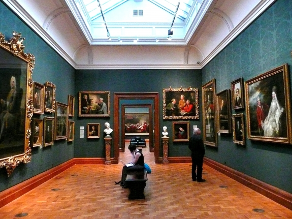 The National Portrait Gallery, London.