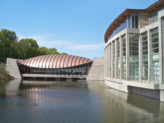 The Crystal Bridges Museum of American Art.