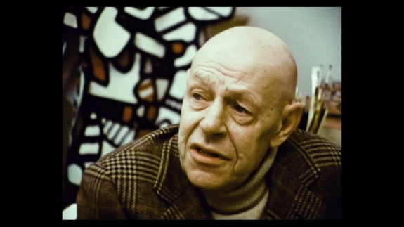 Jean Dubuffet—one of Leslie Waddington's favorite artists.