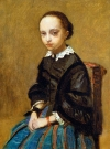 """Portrait of a Girl"" by Jean-Baptiste-Camille Corot. The painting is missing after a man hired to help sell the painting misplaced it after a night of drinking. The owner valued it at $1.4 million."