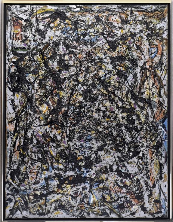 Jackson Pollack's 'Sea Change,' 1947.