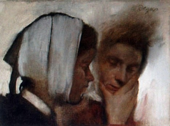 Edgar Degas' 'Laundry Women with Toothache' return home after 37 years