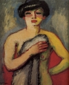 """Fernande Olivier"" (1905) by Kees van Dongen, is on view at the Musee d'Art Moderne through July 17."