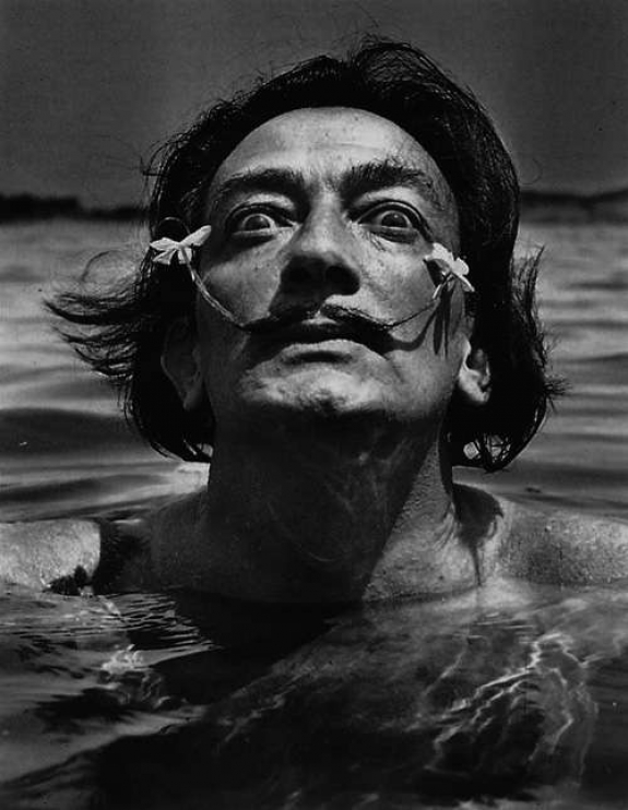 The collection includes works by Salvador Dali.