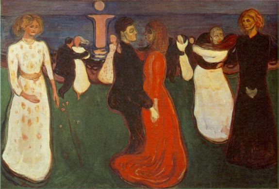 Edvard Munch's 'Dance of Life.'