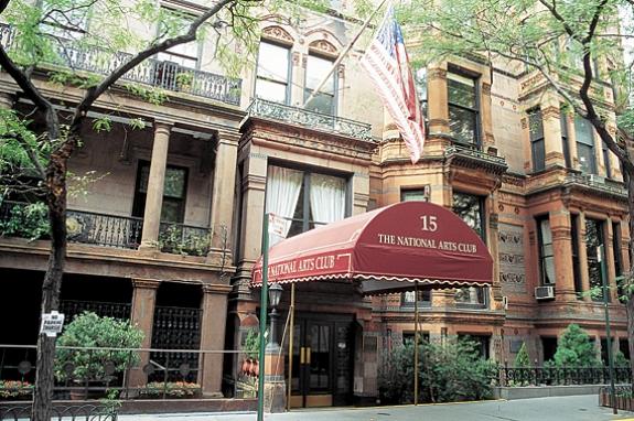 The National Arts Club, New York City.