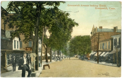 Greenwich, Connecticut, in 1910.