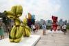 Works by Jeff Koons at the Met.