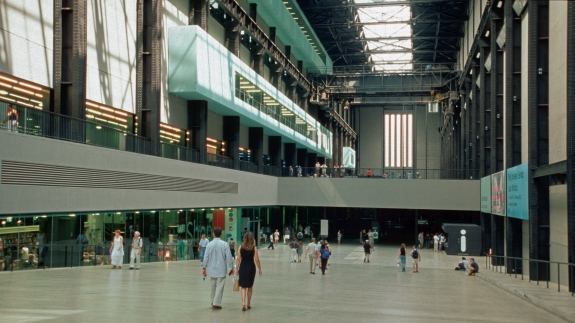 The Turbine Hall, Tate Modern, London.