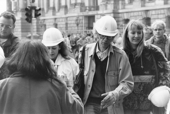 Jeanne-Claude and Christo in 1995.