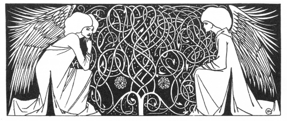 An illustration by Aubrey Beardsley.