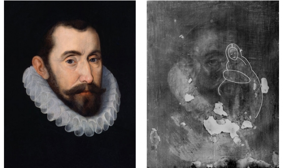Sir Francis Walsingham, possibly after John De Critz the Elder, 16th century (circa 1587).