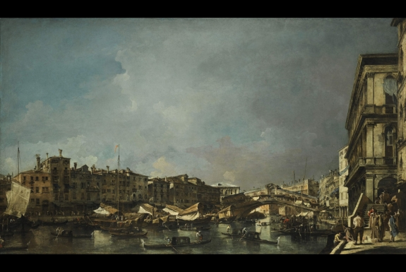 The painting has been sold just once since it was first acquired in Venice in 1768 by the English Grand Tourist, Chaloner Arcedeckne.