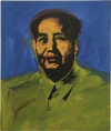 """Mao (Mao 10),"" a 1973 painting by Andy Warhol will be auctioned at Phillips de Pury & Co. on May 12. It has an estimate range of $3.5 million to $4.5 million."