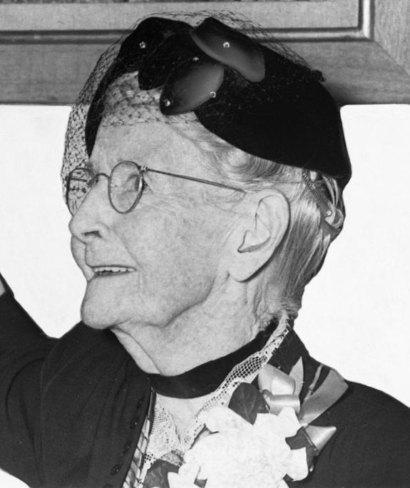 "Anna Mary Robertson ""Grandma"" Moses."