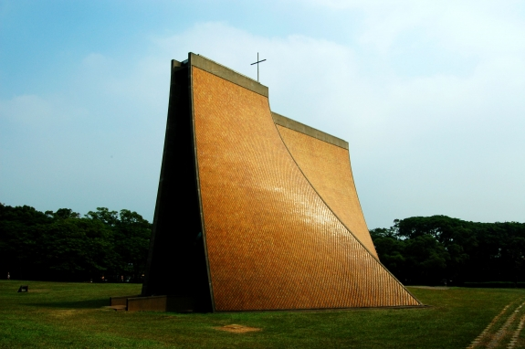 I.M. Pei's Luce Memorial Chapel, Taiwan.