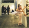 Balletic performance at the Armory Show