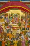 Shah Jahan Receives the Persian Ambassador, Muhammad `Ali Beg, folio from the Windsor Padshahnama, India, c. 1633, The Royal Collection, Windsor (RCIN 1005025, fol. 98b) The Royal Collection © 2011 Her Majesty Queen Elizabeth II