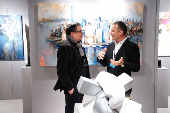 The 2015 New York Art, Antique & Jewelry Show.