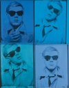 """Self-Portrait"" (1963-1964) by Andy Warhol, acrylic and silkscreen ink on canvas."