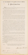 The Emanciptation Proclamation.