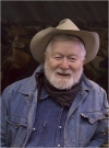 The artist Harry Jackson in 2006 in Cody, Wyo.