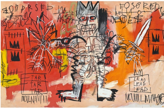 Jean-Michel Basquiat's 'Untitled,' 1981.