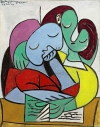 """Femmes Lisant (Deux Personnages)"" (1934) by Pablo Picasso. The work will lead Sotheby's May Impressionist and Modern art sale in New York and is estimated to bring $25 million to $35 million."