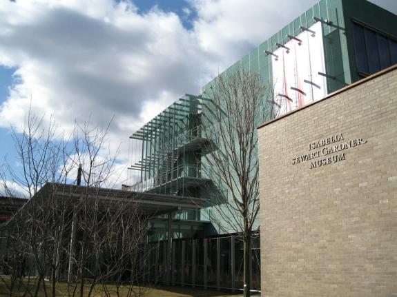 The Isabella Stewart Gardner Museum.