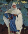 "Ernest Leonard Blumenschein, ""White Blanket and Blue Spruce,"" $1,538,500."