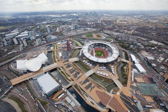 Olympic Park, London.