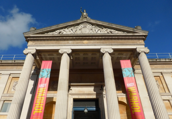 The Ashmolean Museum.