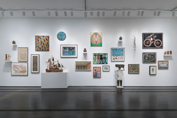 Installation view of As Essential as Dreams at the Menil Collection. Photography by Paul Hester.