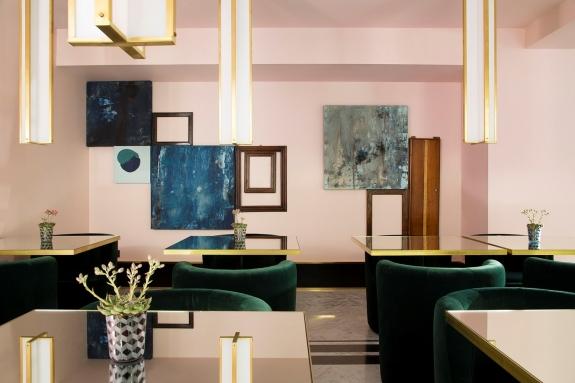 The Hotel Saint-Marc's Breakfast Room.