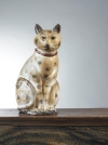Lot 690: Chalk cat, est. $6/8,000.