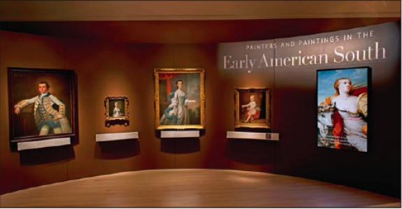 The exhibition Painters and Paintings in the Early American South.