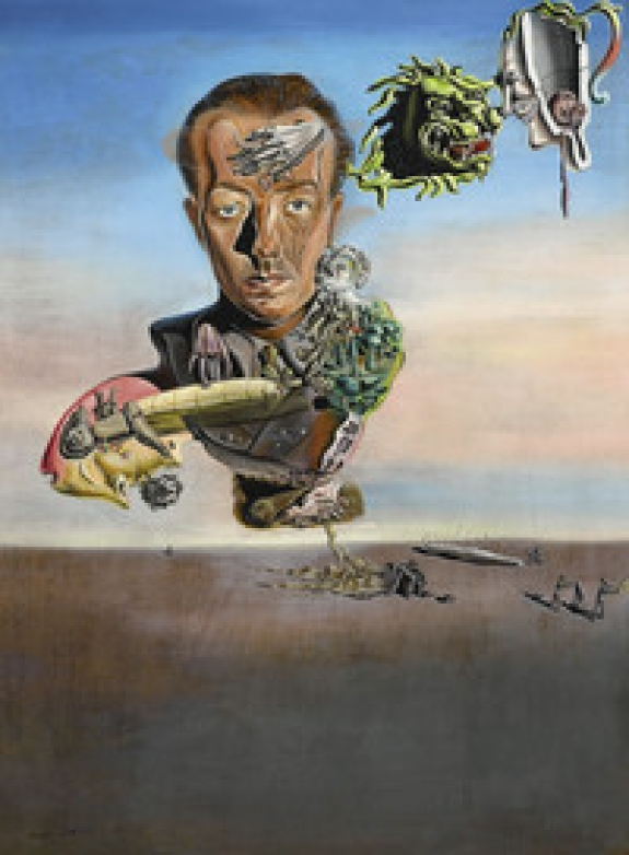 """Paul Eluard"" (1929) by Salvador Dali was included in Sotheby's auction, ``Looking Closely: A Private Collection,'' held in London on Feb. 10, 2011. It fetched 13.5 million pounds with fees, beating a hammer-price estimate of 3.5 million pounds to 5 million pounds."