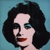 """Liz #5,"" a 1963 painting by Andy Warhol was auctioned at Phillips de Pury & Co. on May 12."