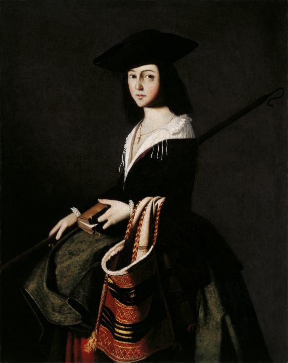Francisco de Zurbarán's 'Santa Marina.'