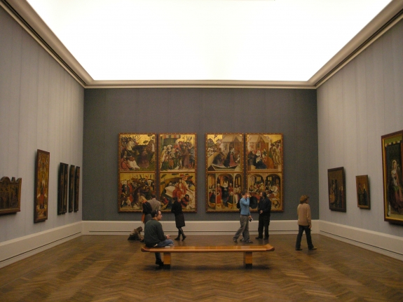 The Gemäldegalerie.
