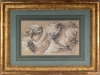 A cache of ten Old Master drawings headed sales at Northeast Auctions.  This one, formerly in the collection of decorator Elsie de Wolfe, brought $35,400.