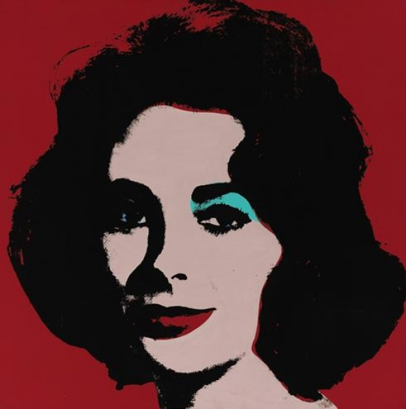 Phillips de Pury & Company to offer iconic painting of Elizabeth Taylor, Liz #5, 1963 by Andy Warhol
