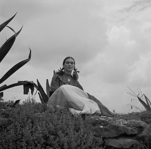 Frida Kahlo by Toni Frissell.