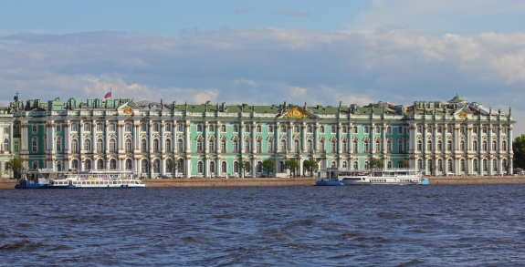 Russia's Hermitage Museum.