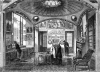 A drawing of the breakfast room in the Sir John Soane House.
