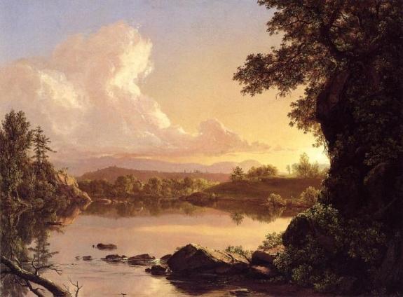 Frederic Church's 'Catskill Creek,' 1847.